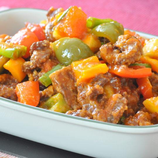 Szechuan style Sweet & Sour Pork – Special