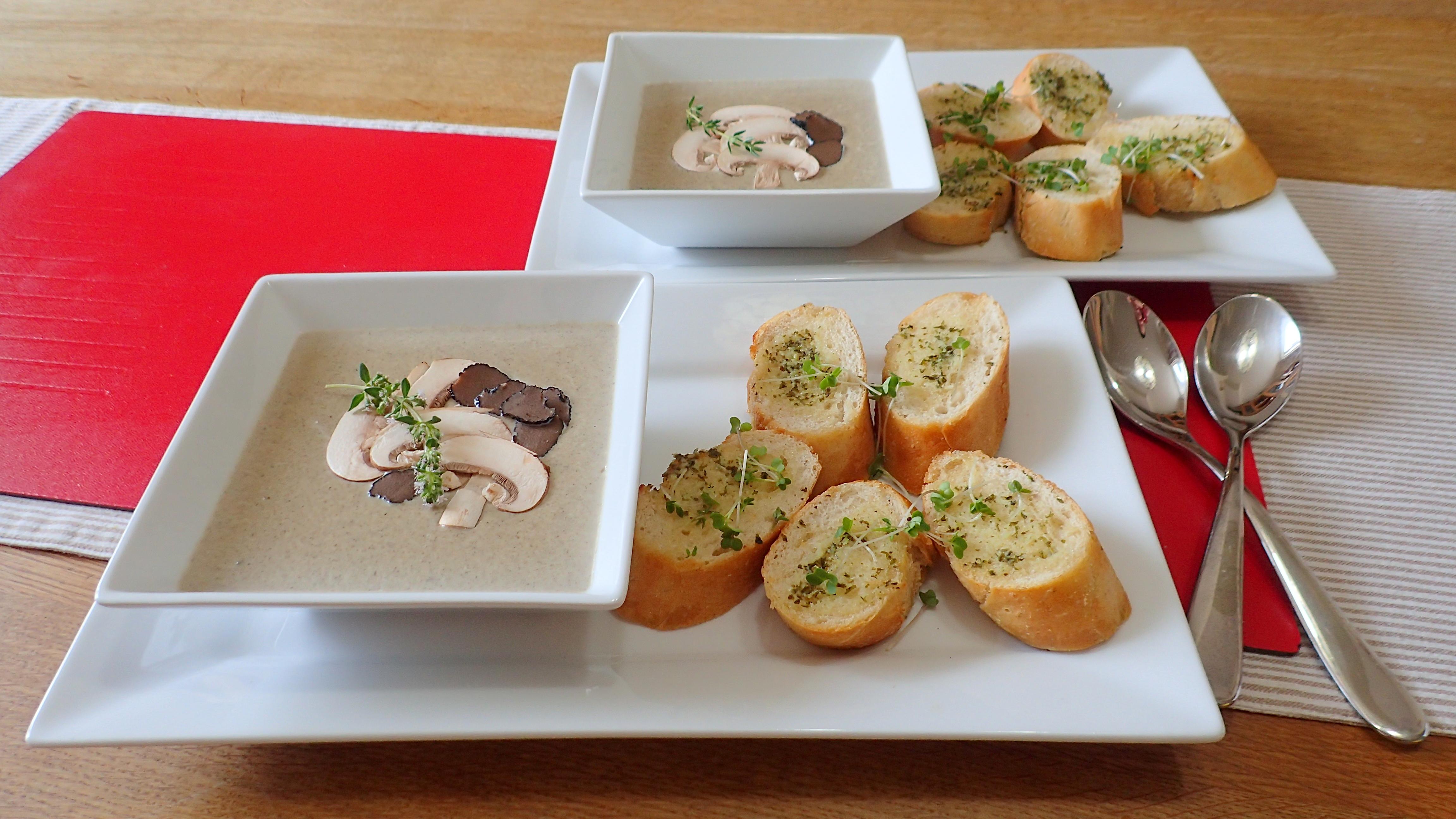 Creamy Full Fat Mushroom Soup