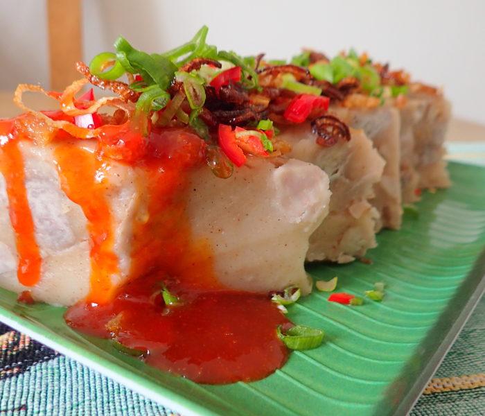 Steamed Yam Cake – Kuih Keladi 蒸芋头糕 – special