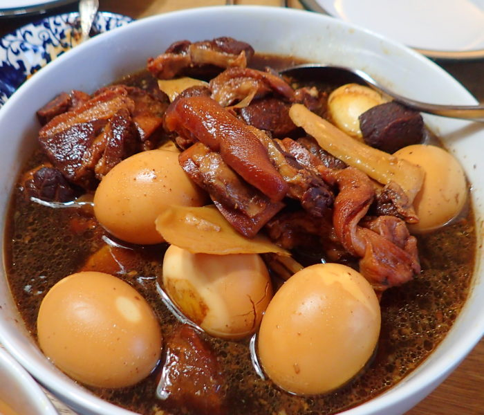 Black Sweet Vinegar Pork Trotter 姜醋猪脚