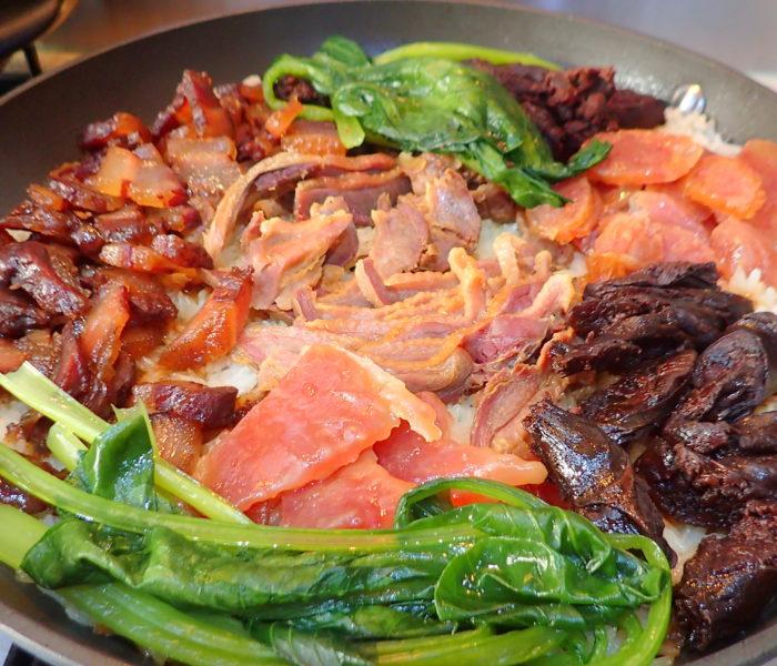 Lap Mei Fan Preserved (Waxed) Meat Rice 臘味飯