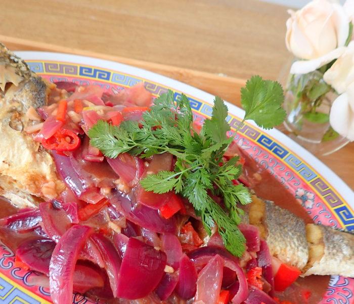 Spicy tamarind (asam jawa) fish