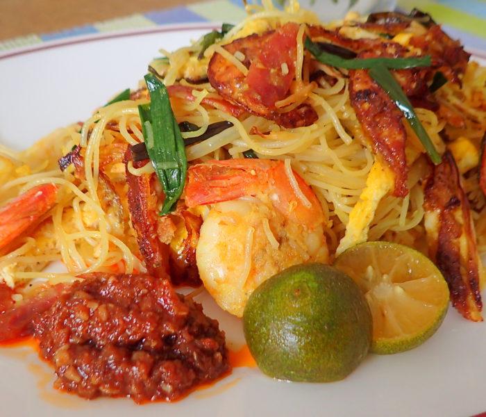 Kiam Hue Bihun (Salt fish rice vermicelli)