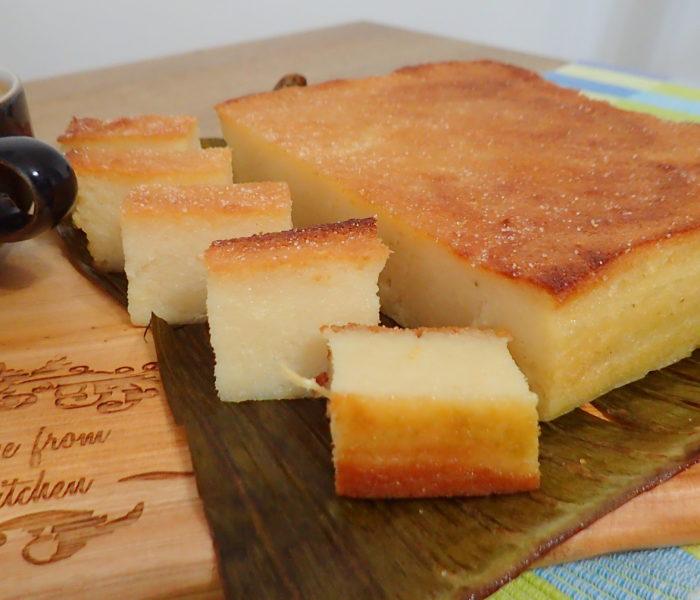 Kuih Bingka Ubi kayu (Tapioca Cake)