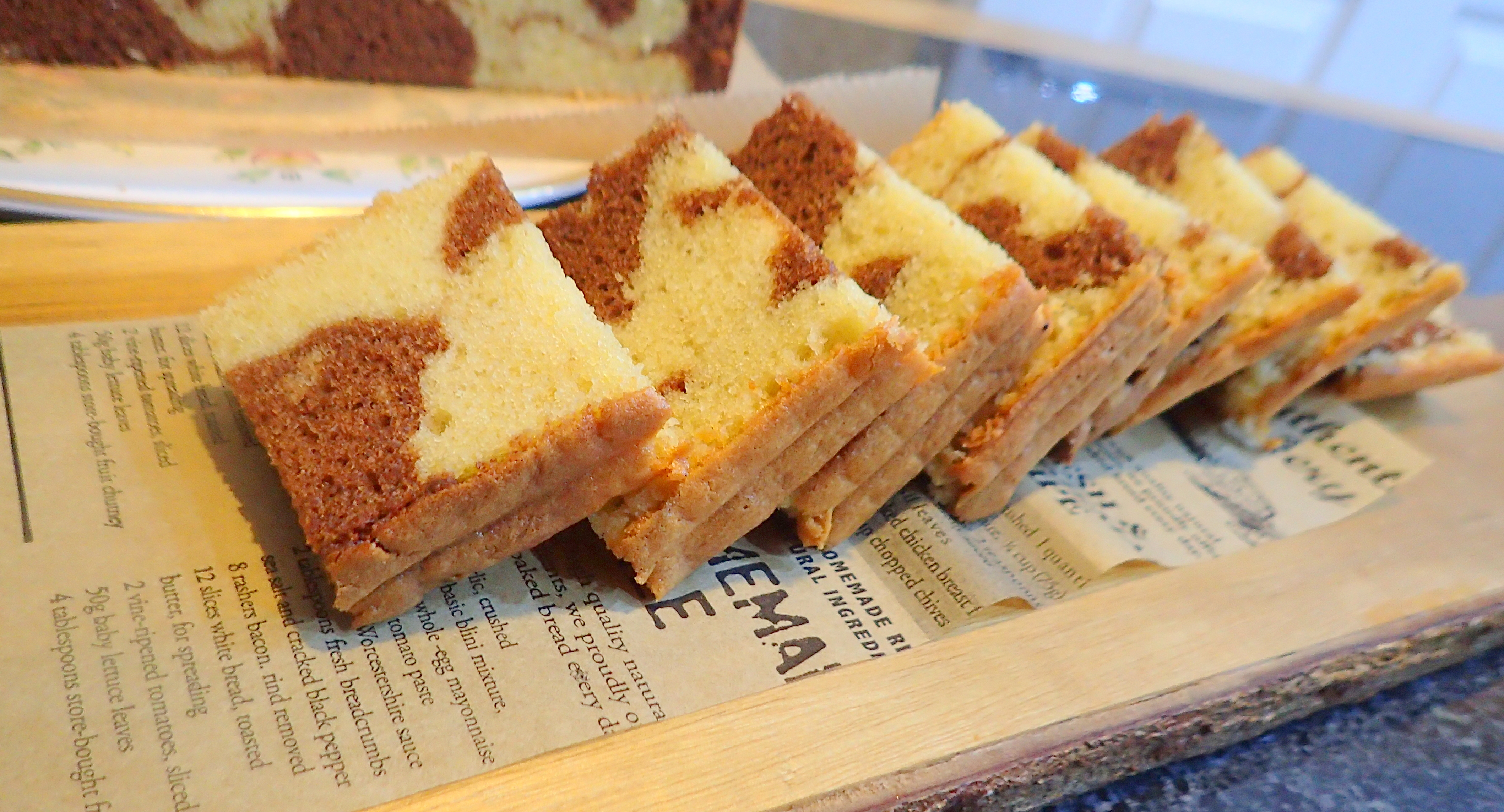 Brandy Butter Chocolate & Coffee marble cake – special