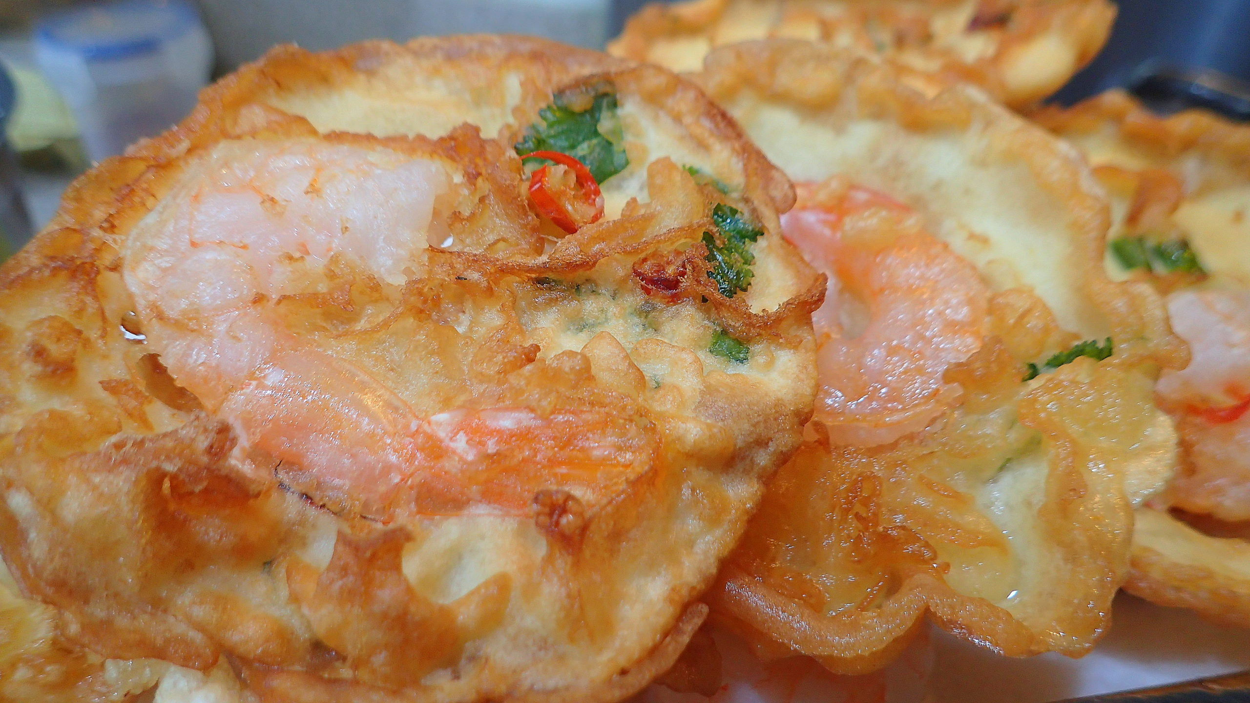 Crispy Prawns Fritters (cucuk udang)