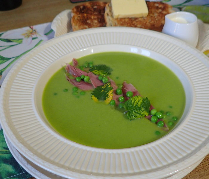 Pea and Ham Hock soup