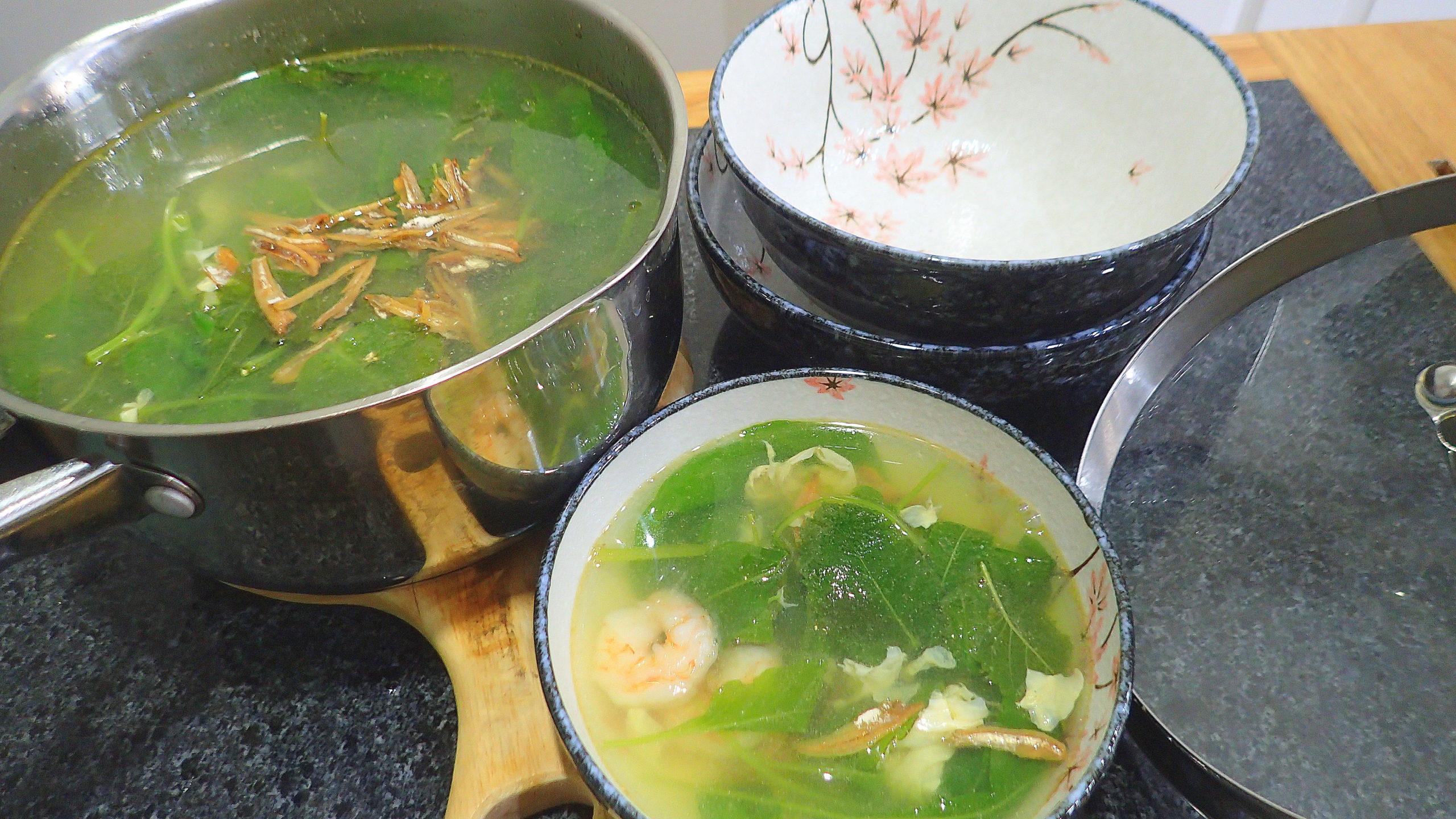 Soup Terjun (ABC soup)